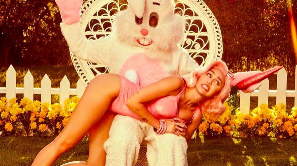 H Miley Cyrus εύχεται