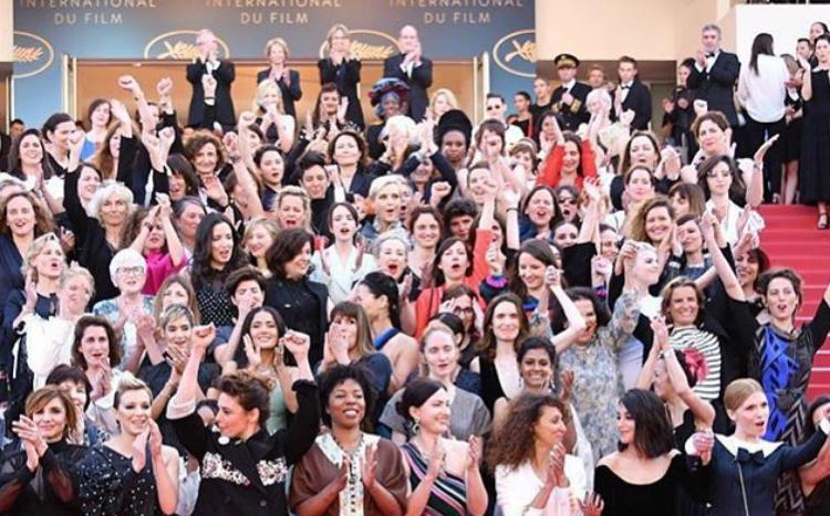 Η Cate Blanchett διοργάνωσε το δικό της Woman's March στις Κάννες