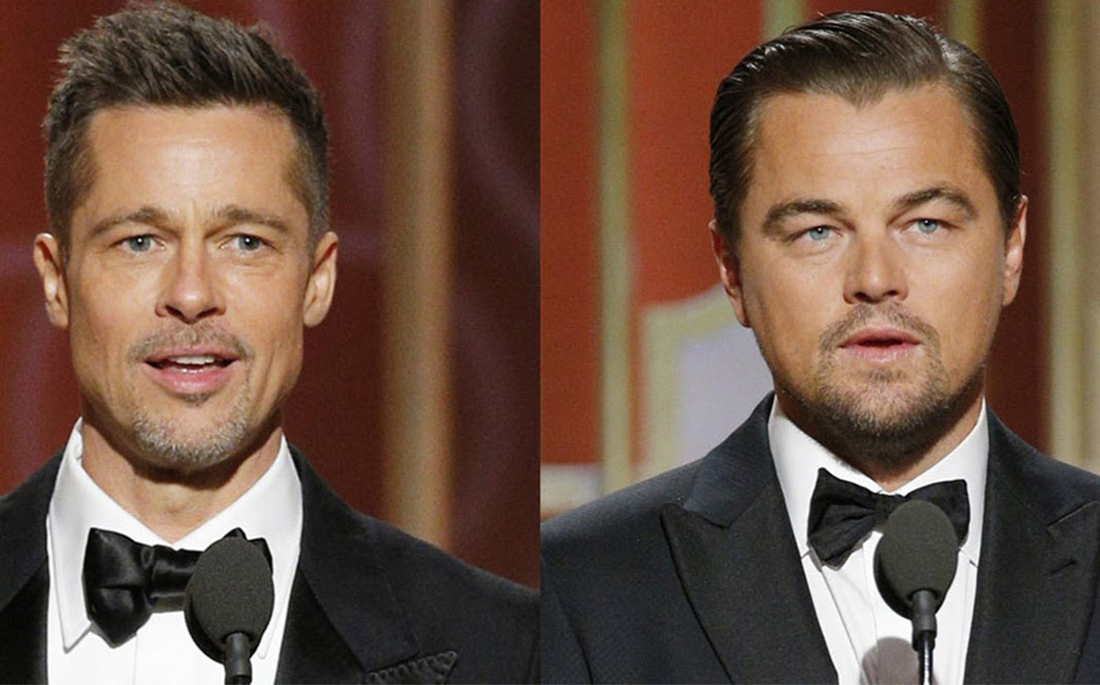 Brad Pitt και Leonardo DiCaprio μαζί στην καινούρια ταινία του Tarantino