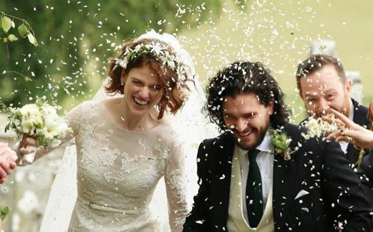Παντρεύτηκε ο Kit Harrington και η Rose Leslie