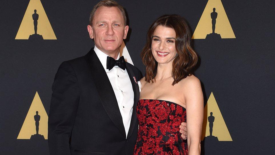 Ο Daniel Craig και η Rachel Weisz απέκτησαν το πρώτο τους παιδί
