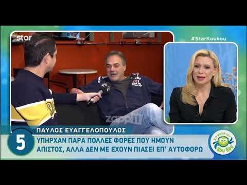 Ευαγγελόπουλος: «Πολλές φορές ήμουν άπιστος, αλλά δεν με έχουν πιάσει ποτέ επ' αυτοφόρω»