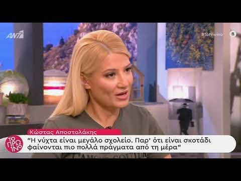 Κώστας Αποστολάκης – Το Πρωινό – 19/11/2019