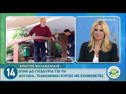 Ο Χρήστος Βαλαβανίδης μιλάει στη Φωλιά των Κου Κου