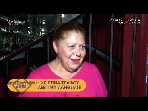 Η Χριστίνα Τσάφου απαντάει αν έχει τσακωθεί ποτέ στο δρόμο