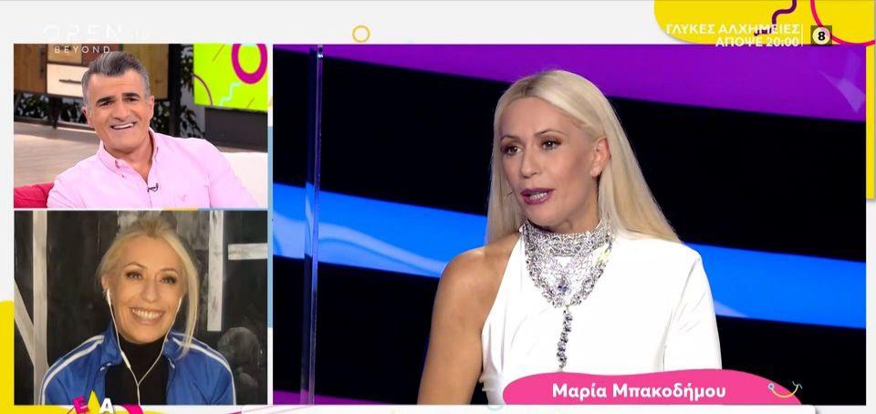 Μαρία Μπακοδήμου: Τι της ζήτησε ο Τρύφωνας Σαμαράς για το αποψινό live του  J2US;