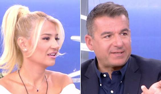 Φαίη Σκορδά – Γιώργος Λιάγκας: Η on air διάψευση ότι παντρεύονται ξανά
