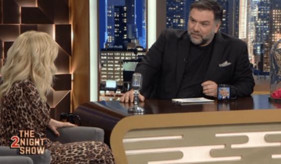 Η Μαρία Μπεκατώρου σοκαρίστηκε με την ερώτηση του Γρηγόρη Αρναούτογλου για το συμβόλαιό της