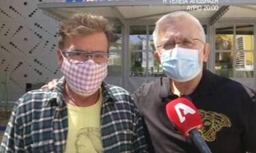 Παπανώτας - Βερύκιος: Έκαναν το εμβόλιο για τον κορονοιό