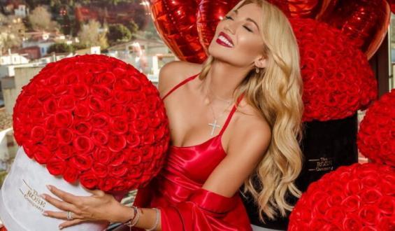 Κωνσταντίνα Σπυροπούλου: Είναι ερωτευμένη και δεν το κρύβει!