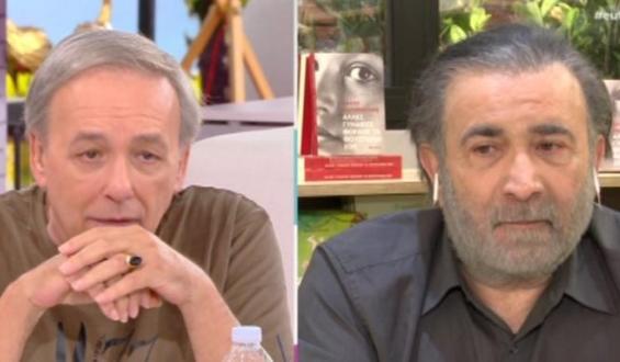 Λάκης Λαζόπουλος – Ανδρέας Μικρούτσικος: Βαθιά συγκίνηση στον αέρα του