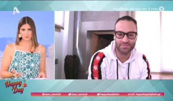 Φραγκολιάς: Πώς ανακάλυψε ότι είναι θετικός πριν επιστρέψει στην εκπομπή