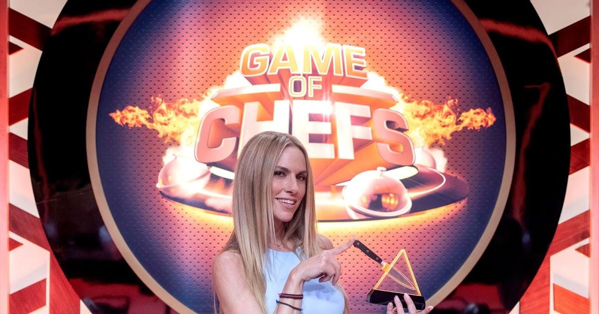 Η Ντορέττα Παπαδημητρίου παρουσιάστρια του  «Game Of Chefs»