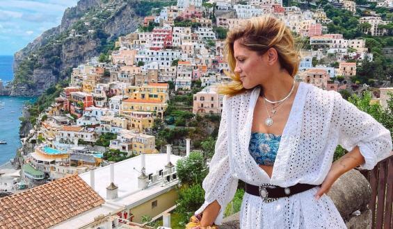 Έρωτας αλά ιταλικά για τη Μαίρη Συνατσάκη